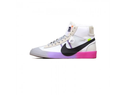 """Off-White x Nike Blazer Mid """"Queen"""" OW Wolf Grey AA3832-002 Men and Women-30"""