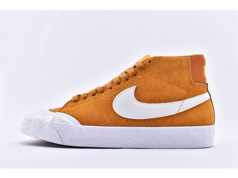 Nike SB Blazer Zoom Mid XT Circuit Orange/White 876872-819 Men and Women-30