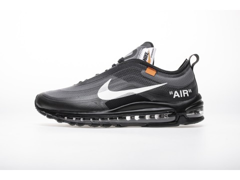 "Off-White x Nike Air Max 97 ""All Black"" AJ4585-001 Men and Women-30"