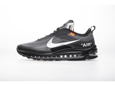 "Off-White x Nike Air Max 97 ""All Black"" AJ4585-001 Men and Women-30"