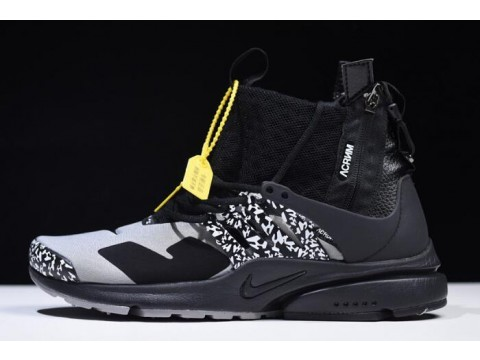 Acronym x Nike Air Presto Mid Cool Grey AH7832-001 Men-30