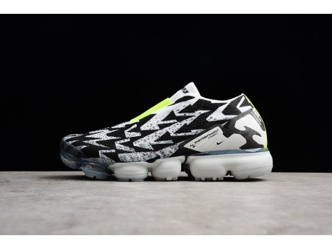 ACRONYM x Nike Air VaporMax Moc 2 Light Bone/Black-Volt AQ0996-001 Men-30