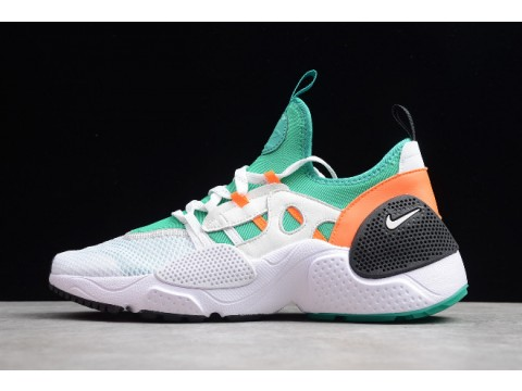 Nike Huarache E.D.G.E TXT QS Clear Emerald White/Clear Emerald/Total Orange BQ5206-100 Men-30