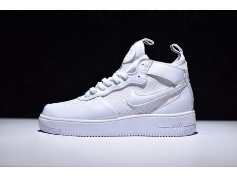 """Nike Air Force 1 Ultraforce Mid """"Summit White"""" 864025-100 for Men and Women-30"""