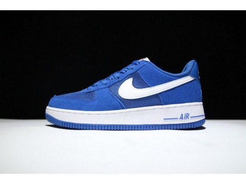 Nike Air Force 1 Low Star Blue and White 820266-402 for Men-30