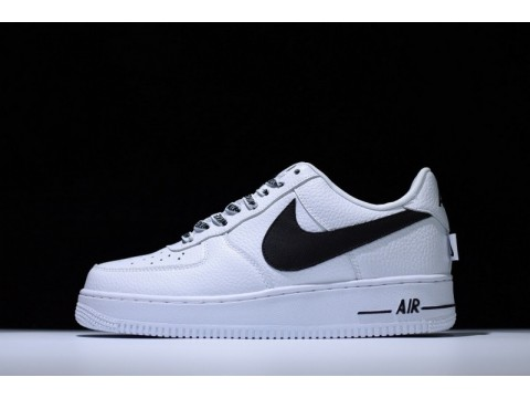 NBA X Nike Air Force 1 Af1 Statement Game White Black 823511-103 for Men and Women-30