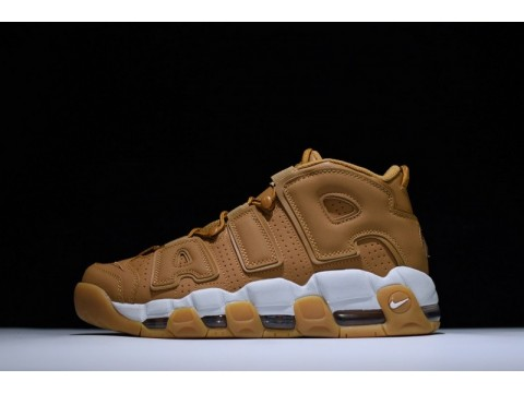 Nike Air More Uptempo Flax Air Wheat AA4060-200 for Men-30
