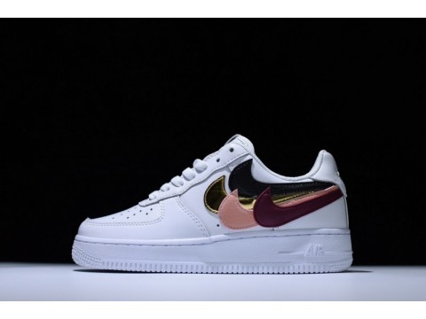 Nike Air Force 1 Low White on White 315121-115 for Men and Women-30