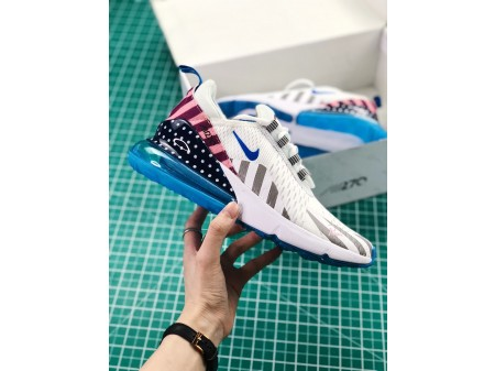 """Parra x Nike iD Air Max 270 """"Moves You"""" White Men and Women AH8050-998"""