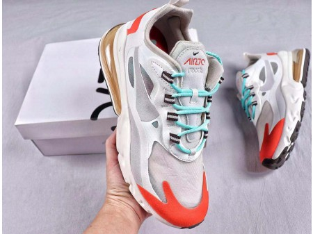 Nike Air Max 270 React WMNS AT6174-002 Men and Women