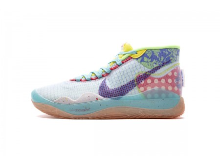 Nike Zoom KD12 EYBL NRG EP Teal Tint Red Orbit CK1197-300 Men-20