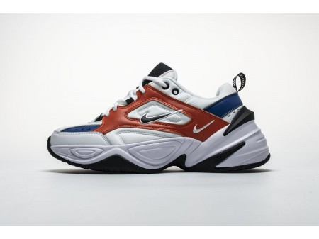 "Nike M2K Tekno ""White blue orange"" AO3108-101 Men Women"