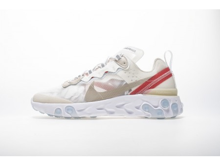 Nike React Element 87 Sail Light Bone AQ1090-100 Men Women-20
