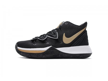 Nike Kyrie 5 EP Black Metallic Gold AO2919 007 Men