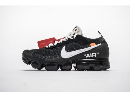 OW OFF-WHITE x Nike Air VaporMax AA3831-001 All Black Men Women-20