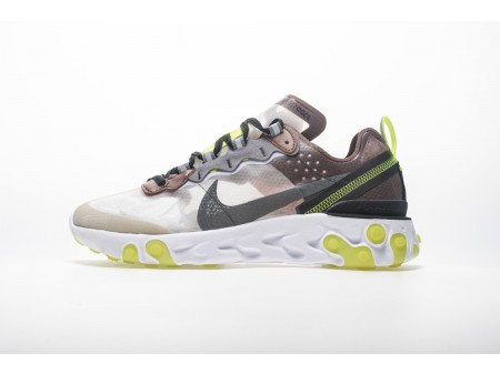 Nike React Element 87 Desert Sand AQ1090-002 Men Women-20