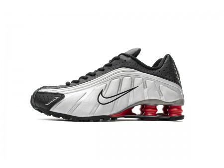 Nike Shox R4 Black Metallic Silver BV1111-008 Men-20