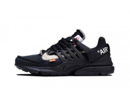 OFF WHITE x Nike Air Presto 2.0 Black for WomenandMen-20