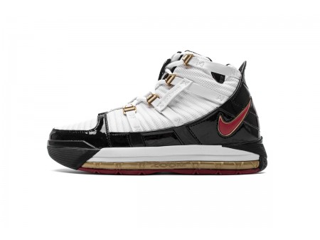 Nike Zoom Lebron III QS Black White AO2451-101 Men-20