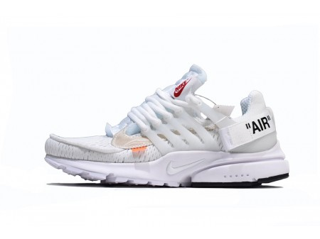 OFF WHITE x Nike Air Presto 2.0 for WomenandMen-20