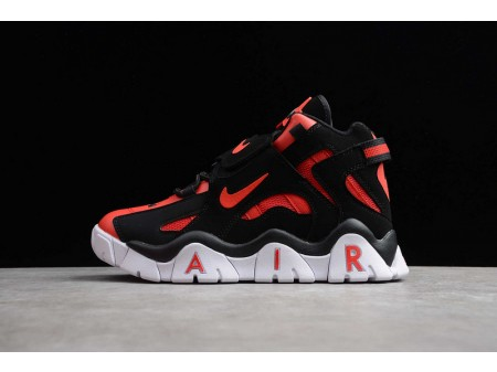 Nike Air Barrage Mid QS University Red Black White CD9329-006 Men and Women-20