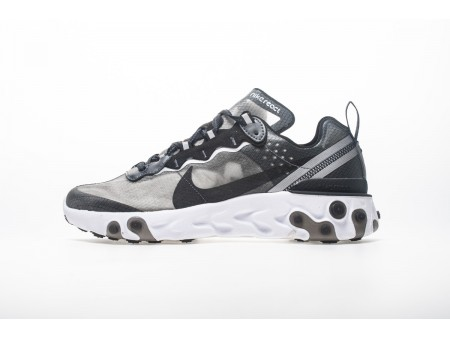 Nike React Element 87 Anthracite Black AQ1090-001 Men Women-20