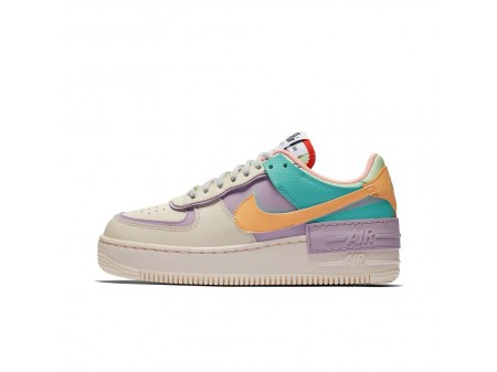 WMNS Nike Air Force 1 Shadow Pale Ivory/Celestial Gold CI0919-101 Women
