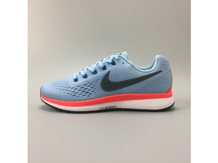 Nike Air Zoom Pegasus 34 Ice Blue 880555-404 Men Women-20