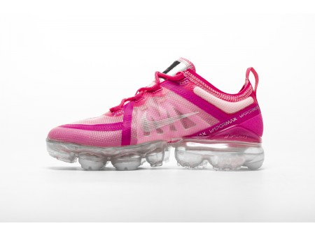 "Nike Air VaporMax 2019 ""Pink"" Sneakers AR6632-600 for Women-20"