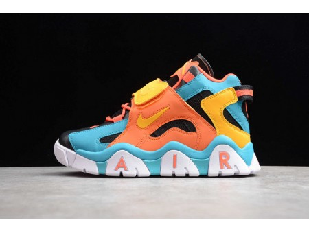 Nike Air Barrage Mid QS Black Orange Bright Yellow Lakewater Orchid CD9329-300 Men and Women-20