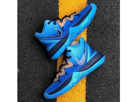 """Concepts x Nike Kyrie 5 """"Constellations"""" Orion's Blue Basketball Shoes CI9961-400 Men"""