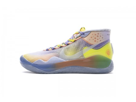 Nike Zoom KD12 EYBL EP Yellow Purple Multi Colour CK1201-900 Men-20