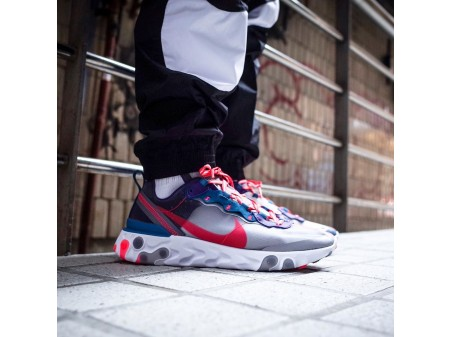 "Nike React Element 87 ""Red Orbit"" CJ6897-061 Men Women-20"