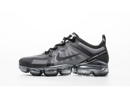 "Nike Air VaporMax 2019 ""Grey and Black"" MenandWomen AR6631-004-20"