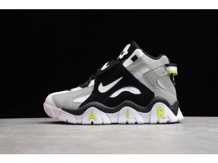Nike Air Barrage Mid QS White Black Lime Green CD9329-009 Men and Women-20
