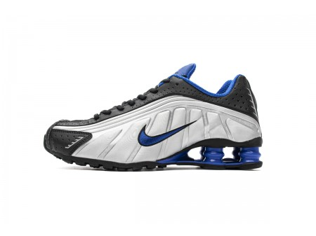 Nike Shox R4 Black Racer Blue 104265-047 Men-20