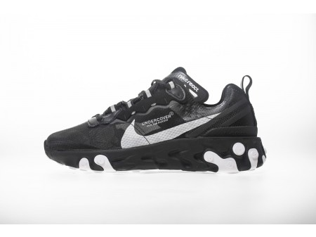 "UNDERCOVER X Nike Upcoming React Element 87 ""All Black"" AQ1813-001 Men Women-20"