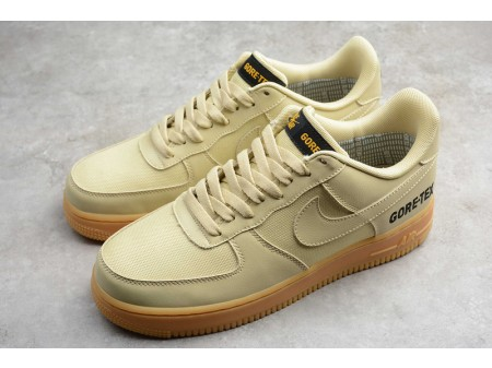 "Nike Air Force 1 Low ""Gore-Tex"" GTX Team Gold/Khaki CK2630-700 Men"