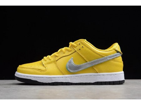 Diamond Supply Co x Nike SB Dunk Low Pro OG QS Yellow BV1310-002 Men Women-20