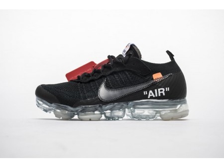 OFF-WHITE x Nike Air VaporMax Black AA3831-002 Men Women-20