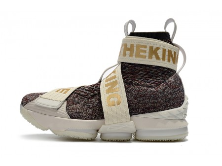 KITH x Nike LeBron 15 Lifestyle Stained Glass Basketball Shoes Men-20