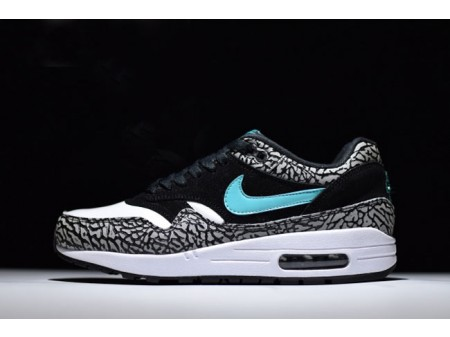 Nike Air Max 1 Atmos Elephant Black/Clear Jade-White 908366-001 Men Women-20