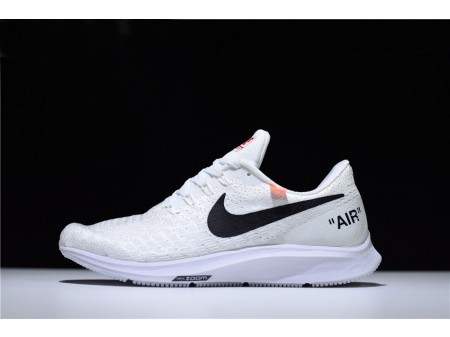 Off-White x Nike Air Zoom Pegasus 35 White Running Shoes Men Women-20
