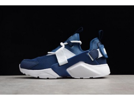Nike Air Huarache City Low Navy/White Running Shoes AH6804-400 Men Women-20