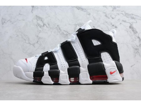 Nike Air More Uptempo Scottie Pippen PE White/Black-Varsity Red 414962-105 Men Women-20