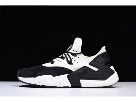 Nike Air Huarache Drift White Black Trainers AH7334-002 Men