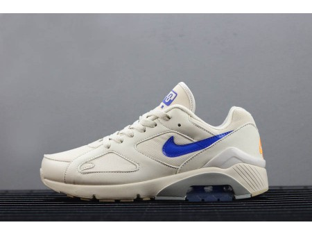 Nike Air Max 180 Desert Sand/Racer Blue-Total Orange AQ9974-002 Men-20