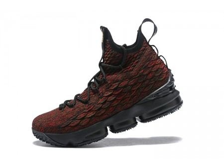 Nike LeBron 15 BHM Black/Multi-Colour Basketball Shoes AA3857-900 Men-20