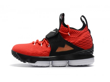Nike LeBron 15 Red Alternate Diamond Turf Basketball Shoes Men