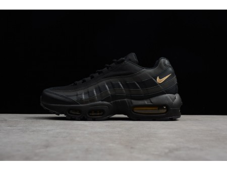Newest Nike Air Max 95 Premium SE Black/Metallic Gold 924478-003 Men-20